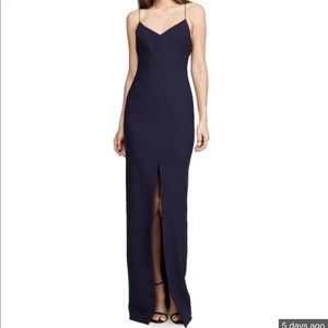 LIKELY Estella Gown Size 6 Navy